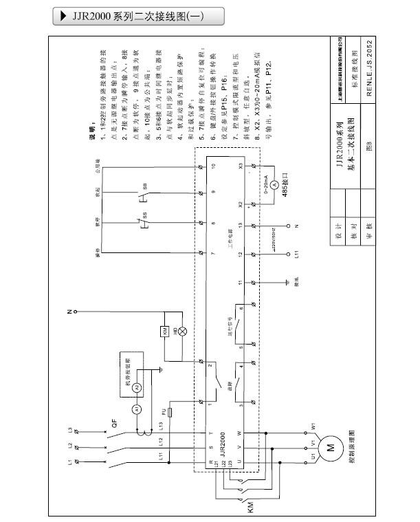 >> renle(雷诺尔) 软启动器 jjr2037